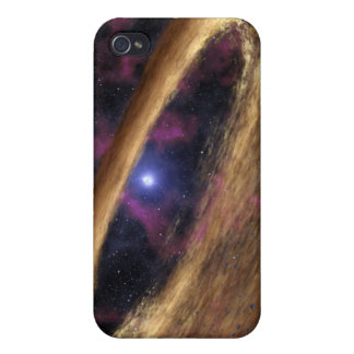 A type of dead star called a pulsar cover for iPhone 4