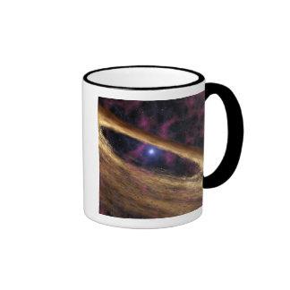 A type of dead star called a pulsar ringer mug