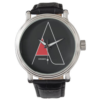 A typom letter A / MensWatch Relojes De Pulsera