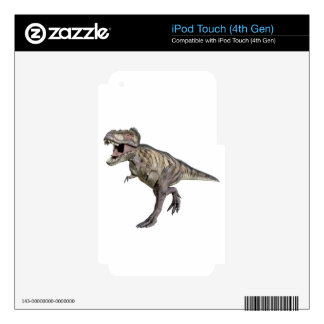 A Tyrannosaurus Rex Running to the Right iPod Touch 4G Decals