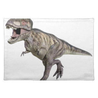 A Tyrannosaurus Rex Running to the Right Placemat