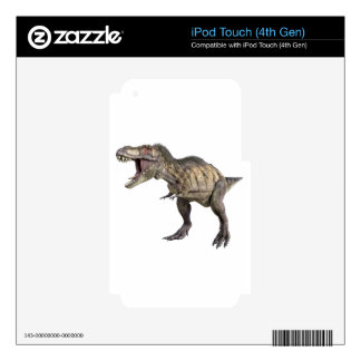 A Tyrannosaurus Rex Standing and Looking Right Skin For iPod Touch 4G