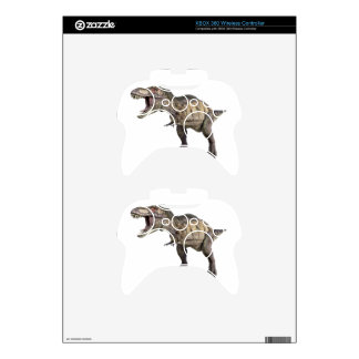A Tyrannosaurus Rex Standing and Looking Right Xbox 360 Controller Skin