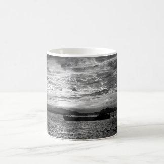 A U.N. LST slips into the harbor _War Image Coffee Mug