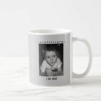 ~ A * U * T * I * S * M ~~, ... COFFEE MUG
