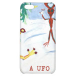 A UFO Christmas iPhone 5C Covers