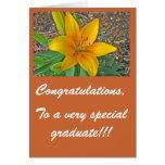 A un graduado muy especial… - Modificado para Tarjeta De Felicitación