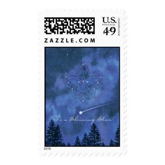 A una estrella brillante sello