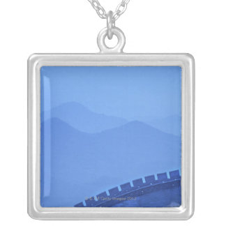 A UNESCO World Heritage Site the Wall at Silver Plated Necklace