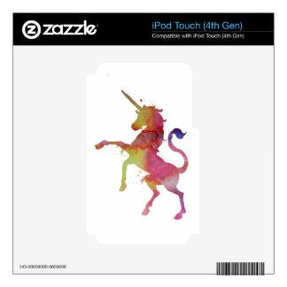 A unicorn iPod touch 4G skin