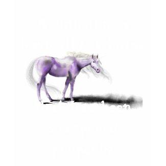A Unicorn is a horse that... T-Shirt shirt