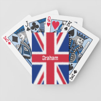 A Union Jack Bicycle Playing Cards