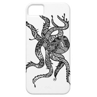 A unique octopus hand drawn art iPhone 5 covers