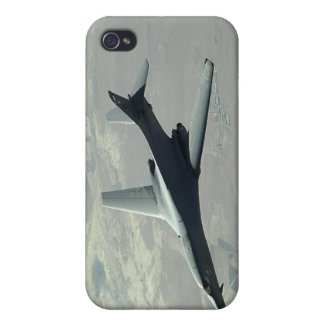 A US Air Force  B-1B Lancer on a combat patrol 2 iPhone 4 Covers