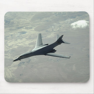 A US Air Force  B-1B Lancer on a combat patrol 2 Mouse Pad