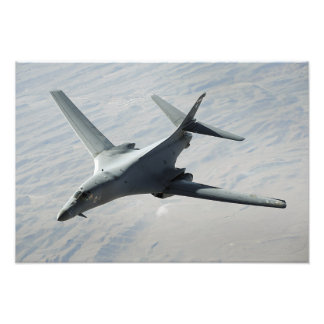 A US Air Force  B-1B Lancer on a combat patrol 2 Photo Print