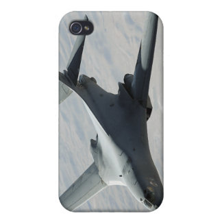 A US Air Force  B-1B Lancer on a combat patrol iPhone 4/4S Cases