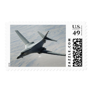 A US Air Force  B-1B Lancer on a combat patrol Postage Stamps