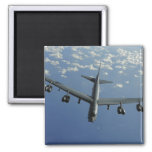 A US Air Force B-52 Stratofortress 2 Inch Square Magnet