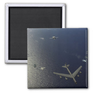 A US Air Force B-52 Stratofortress aircraft 2 2 Inch Square Magnet