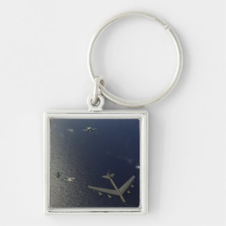 A US Air Force B-52 Stratofortress aircraft 2 Keychain