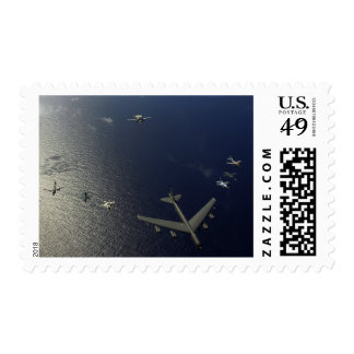 A US Air Force B-52 Stratofortress aircraft 2 Stamps