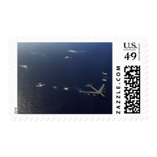 A US Air Force B-52 Stratofortress aircraft 3 Postage Stamp