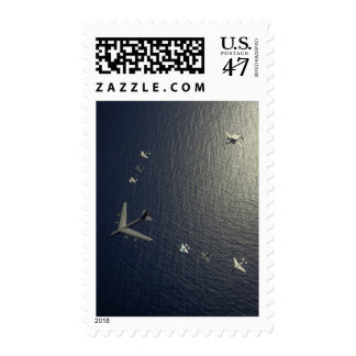 A US Air Force B-52 Stratofortress aircraft Postage Stamp