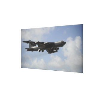 A US Air Force B-52 Stratofortress in flight Canvas Print