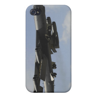 A US Air Force B-52 Stratofortress in flight Cover For iPhone 4