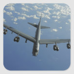 A US Air Force B-52 Stratofortress Square Sticker