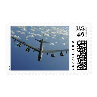 A US Air Force B-52 Stratofortress Stamp