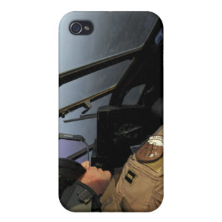 A US Air Force C-130J Hercules pilot Cover For iPhone 4