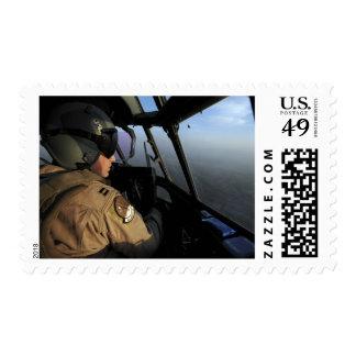 A US Air Force C-130J Hercules pilot Postage