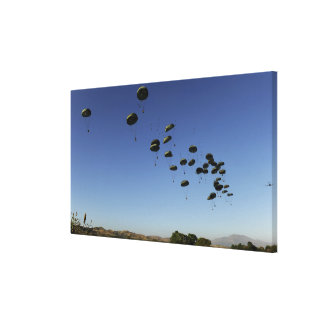 A US Air Force C-17 Globemaster III 2 Gallery Wrapped Canvas