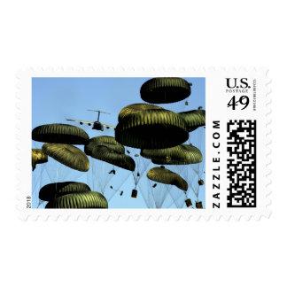 A US Air Force C-17 Globemaster III Stamp