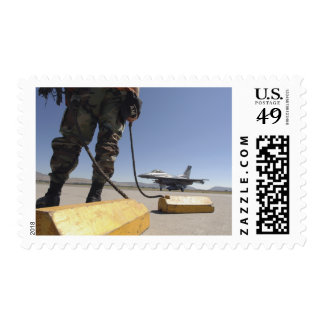 A US Air Force crew chief Postage