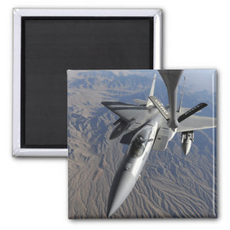 A US Air Force F-15 Eagle 2 Inch Square Magnet