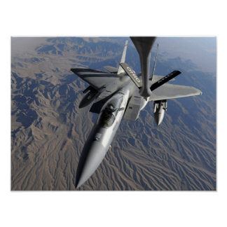 A US Air Force F-15 Eagle Poster