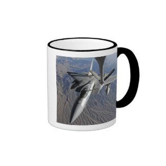 A US Air Force F-15 Eagle Ringer Coffee Mug