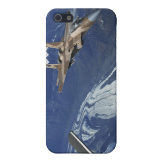 A US Air Force F-15C Eagle positioning itself Cover For iPhone SE/5/5s