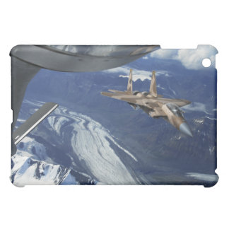 A US Air Force F-15C Eagle positioning itself iPad Mini Case