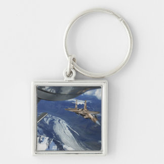 A US Air Force F-15C Eagle positioning itself Keychain