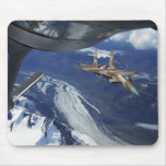 A US Air Force F-15C Eagle positioning itself Mouse Pad