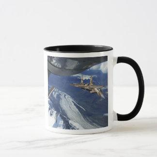 A US Air Force F-15C Eagle positioning itself Mug