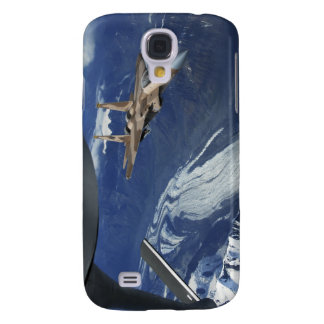 A US Air Force F-15C Eagle positioning itself Samsung Galaxy S4 Case