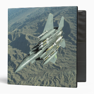 A US Air Force  F-15E Strike Eagle 3 Ring Binder
