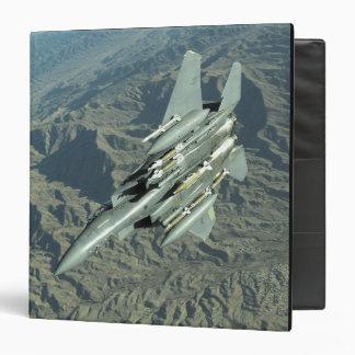 A US Air Force  F-15E Strike Eagle 3 Ring Binder