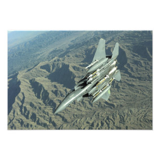 A US Air Force  F-15E Strike Eagle Photo Print