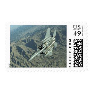 A US Air Force  F-15E Strike Eagle Postage
